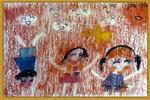 快乐宝贝儿童画2幅