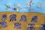 保护我们的家园儿童画2幅