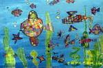 海底世界儿童画(十三)8幅