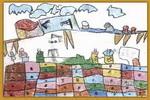 武器制造基地儿童画