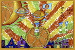 橙汁世界儿童画