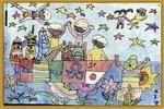 儿童画/我和星星做朋友儿童画