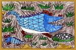 鳄鱼儿童画