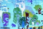 美丽的长沙儿童画