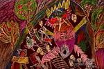 山洞里的妖怪儿童画作品欣赏