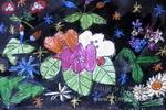 美丽的鲜花儿童画