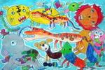 动物世界儿童画10幅