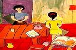 在画室里儿童画作品欣赏