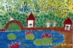 儿童画/绿色公园儿童画