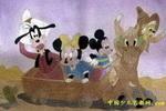 愉快的旅行儿童画