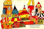城堡儿童画7幅