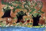 森林儿童画