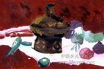 静物儿童画(十九)4幅