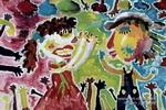 拍拍手儿童画作品欣赏