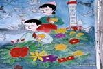 跨跃二十一世纪儿童画作品欣赏