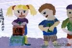 献爱心儿童画作品欣赏