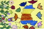 我爱祖国儿童水粉画