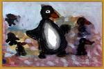 企鹅儿童画