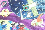 世界真奇妙儿童画作品欣赏