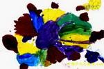 太阳下的小乌龟儿童画