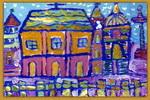 大教堂儿童画