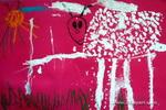 小羊乖乖儿童画