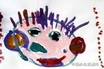 开心娃娃儿童画作品欣赏