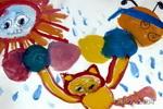 受伤的朋友儿童画作品欣赏