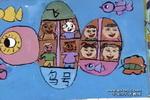 飞鸟号飞船儿童画作品欣赏