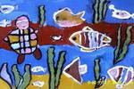 海底选美儿童画