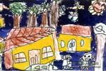 家园儿童画作品欣赏