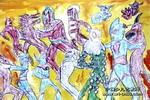 奥特战神儿童画作品欣赏