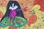 金色的童年儿童画作品欣赏