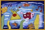海底的演唱会儿童画