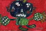 水果娃儿童画作品欣赏