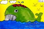 """""""鲸""""儿童画"""