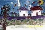 我的小院儿童画