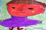 爸爸真帅儿童画作品欣赏