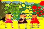 红泡泡黄泡泡绿泡泡儿童画图片
