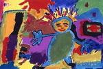 美丽的家儿童画3幅