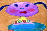 我四岁了儿童画作品欣赏