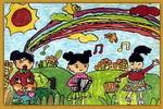 欢庆六一儿童画