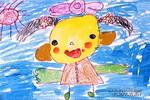 我漂亮吗!儿童画作品欣赏