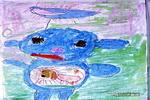 天线宝宝丁丁儿童画作品欣赏