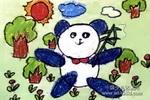 保护大熊儿童画