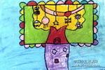 神奇的树儿童画5幅