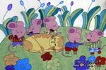 老鼠们的梦儿童画作品欣赏