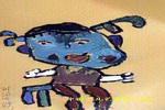 我家小妹妹儿童画