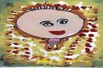 太阳王子儿童水粉画