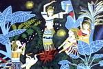 南国风情儿童画作品欣赏
